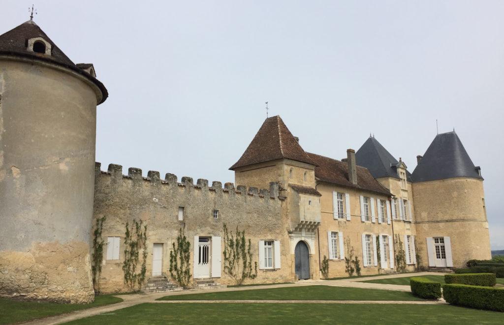 Chateau D'Yquem in Sauternes.