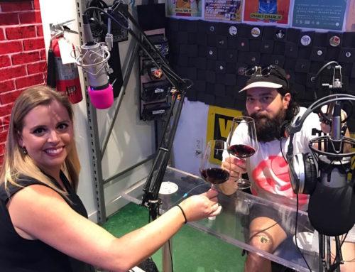 Wine pairing on Jolt Radio